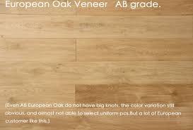 european oak has many big knots but knots is always like a star it is not falling if some customer likes rustic feel european oak looks good