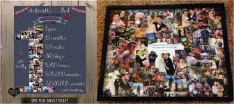 idea first wedding anniversary gift