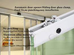 long glass hunger glass clamp for automatic frameless glass door heavy duty parts details