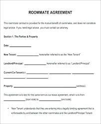 Lease Contract Sample Tenant Lease Template Landlord Tenancy Agreement Template Free Room