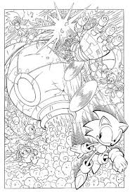 Coloring pages for kids sonic x printable. Sonic X Coloring Pages