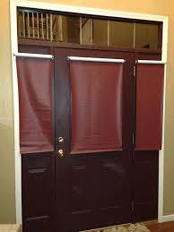 front door shades. Brown Front Door Shades