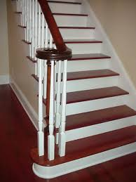 How To Hardwood Stairs Stairway Remodeling Ideas Solution For Your Home White