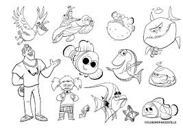 Finding Nemo Coloring Pages Free Zoloftonline Buyinfo