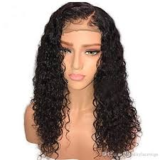glueless brazilian women s human hair lace front long curly wigs with baby hair wig high quality natural hairline virgin wig heat resistant human hair curly