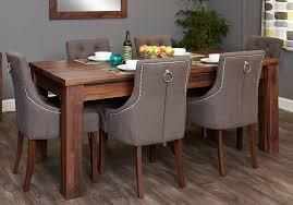 dining tables 8 seater dining table set 9 piece dining set natural brown of rectangle