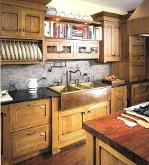 craftsman tile backsplash walnut wood driftwood shaker door craftsman style  kitchen cabinets walnut wood driftwood shaker