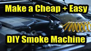 how to fix vacuum leaks w a diy smoke machine