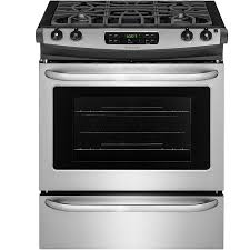 Gas Range With Gas Oven Shop Slide In Gas Ranges At Lowescom