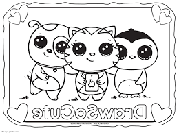 Cute Coloring Pages To Print F5to Draw So Cute Coloring Pages Free