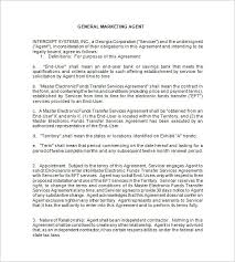 Partner Contract Sample Adorable 48 Booking Agent Contract Templates Free Word PDF Documents