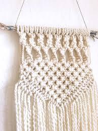 Macrame Wall Hanging Macrame Wall Hanging Boho Style Winter White Cream Ocean