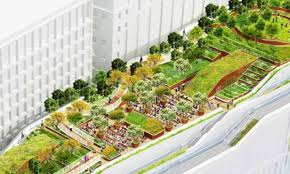 new google office. Grand: The Design Has A Rooftop \u0027field\u0027 With Running Track And Walking Zone New Google Office L