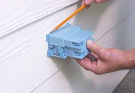 exterior outlet box. cut hole outdoor outlet - add exterior box i