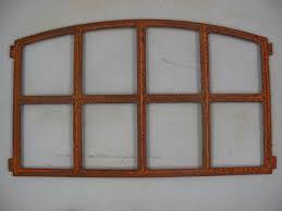 Fenster Gußeisen Rostig H48x84cm Stallfenster Heim Garten