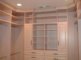 wood storage closet shelving