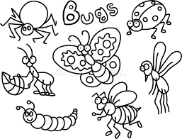 Nature is full of flying things, buzzing things and insects and bugs are some of those things. Bugs Coloring Stock Illustrations 184 Bugs Coloring Stock Illustrations Vectors Clipart Dreamstime