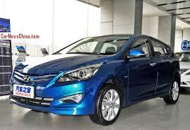 2018 hyundai verna hatchback. facelifted hyundai verna hatchback launched on the china car market 2018 m