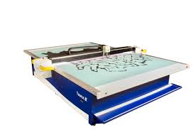 leather cutting machine cnc double table taurus leather cutter