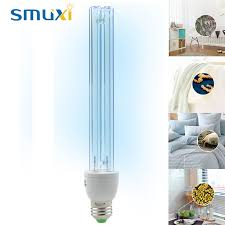 20w e27 uv light bulb ultraviolet disinfection lamp uvc ozone sterilization mites lights germicidal lamp ac220v in ultraviolet lamps from lights