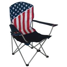 usa flag camp chair