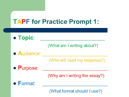 attacking the writing prompt before writing your essay the  3 tapf