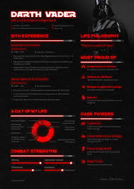 darth vader s resume if he was looking for a job the gridd z darth vader resume