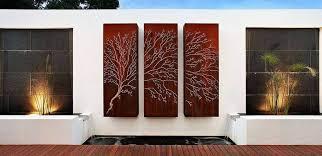 15 outdoor wall decor ideas to freshen