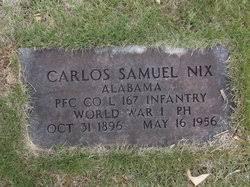 Carlos Samuel Nix (1896-1956) - Find A Grave Memorial