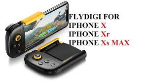 Tay cầm một bên Flydigi Wasp cho IOS Iphone X,XR,Xs Max chơi PuBg,Portnite  trực tiếp từ Appstore - YouTube
