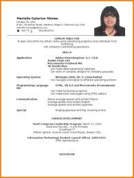 ojt resume. Ojt Certificate Sample For It Student Copy Resume Objectives For Ojt