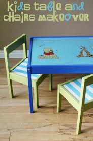 full size of children s table and chairs kids table and chairs makeover frugal mom eh table