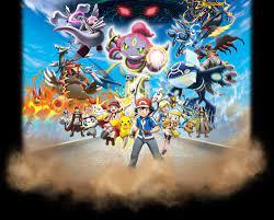 Quality poster of the Pokémon Movie 18: