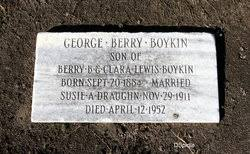 George Berry Boykin (1884-1952) - Find A Grave Memorial