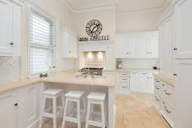 all white kitchen designs. All White Furniture In A Themed Kitchen Designs G