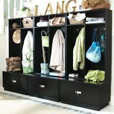 hall tree with shoe cubbies incredible charming black entryway wood hall tree coat rack storage bench