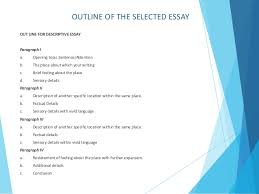 unit task descriptive essay isabel gonzalez  9
