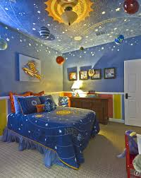 Space room for boys. Planets. Galaxy. Blue room. | Dream Home in ...