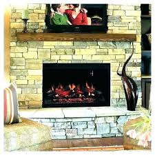 led electric fireplace insert inch led electric space heater built in recessed