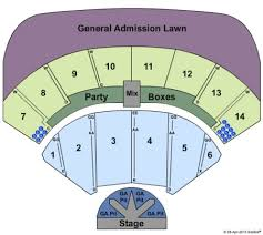 Cricket Amphitheatre Seating Chart Providence Medical Center Amphitheater Tickets Providence