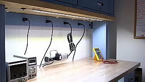 bench lighting. Magnificent Work Bench Lighting Set New In Home Security Design LED Workbench Desk Lights Photo Gallery Super Bright LEDs