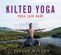 kilted yoga book cover