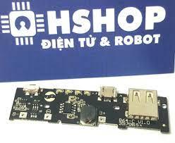 Mạch sạc pin dự phòng 1 cổng USB 2A Power Bank Module – Hshop.vn