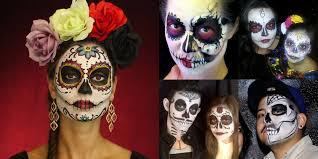 face painter sugar skulls dia de los muertos