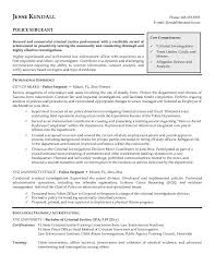 Police Resume. Criminal Investigator Resume Cover Letter Insurance ...