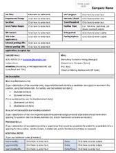 Work Description Form Job Descriptions Job Description Templates 8ws