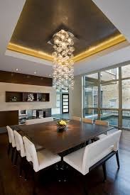 Modern Light Fixtures Dining Room Custom Square Table And Uber Cool Hanging Light Fixture Chandelier Modern