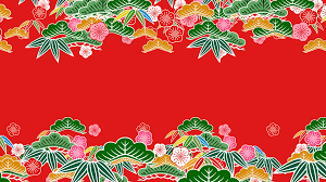 Japanese Pattern Awesome Japanese Pattern Shochikubai K488r 48k Motion Background Videoblocks