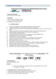 General Manager Resume Objective Examples – Resume Pro