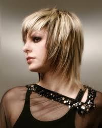 Image Modèles De Coupe De Cheveux Mi Longs Dégradés Coiffure
